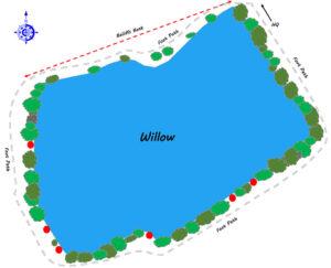 Willow Lake Map