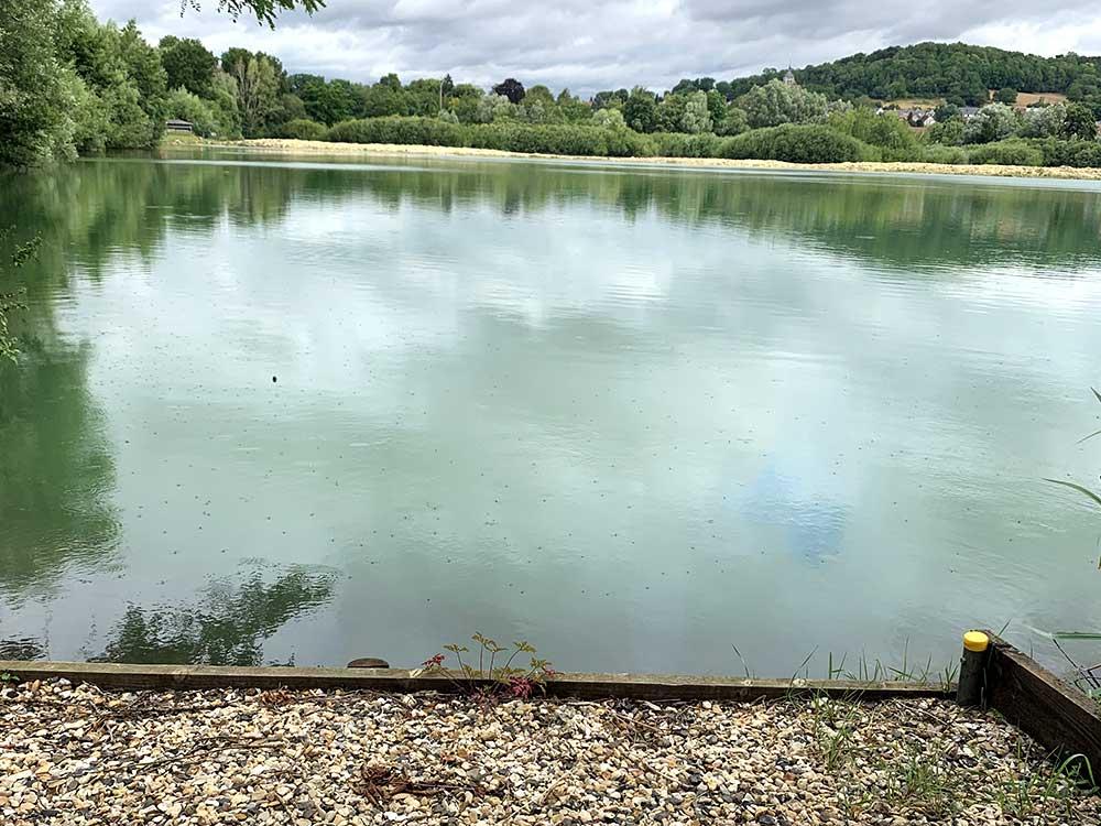 Oak Lake Kev's Corner Swim